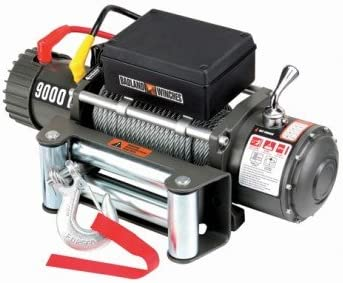 Amazon.com: 9000 lb. Electric Winch with Automatic Brake, Three-stage  Planetary Gear System and Remote Switch (12 feet lead): Home ImprovementAmazon.com