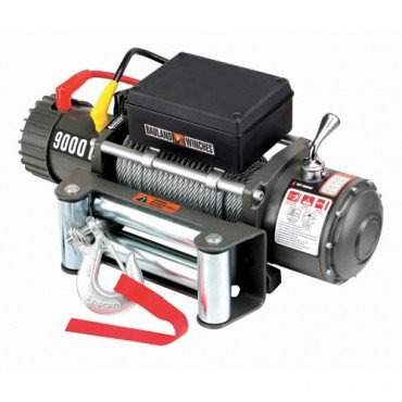 9000 lb  Electric Winch with Automatic Brake, Three-stage Planetary Gear  System and Remote Switch (12 feet lead)