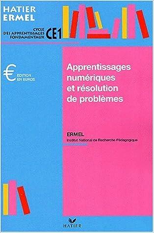 En ligne téléchargement Apprentissages numériques au CE1, édition 2001 pdf, epub