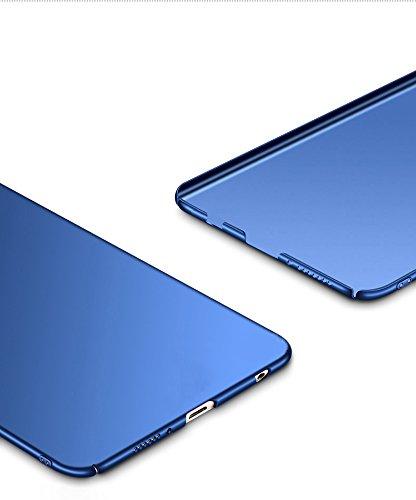 SMTR Huawei Honor 7x Funda, Calidad Premium Cubierta Delgado Caso de PC Hard Gel Funda Protective Case Cover para Huawei Honor 7x -Azul Azul