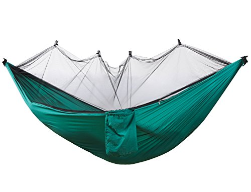Zoophyter Hammock Tent with Mosquito Net, Lightweight & Portable for Backpacking Camping Traveling & Hiking – Dark Green