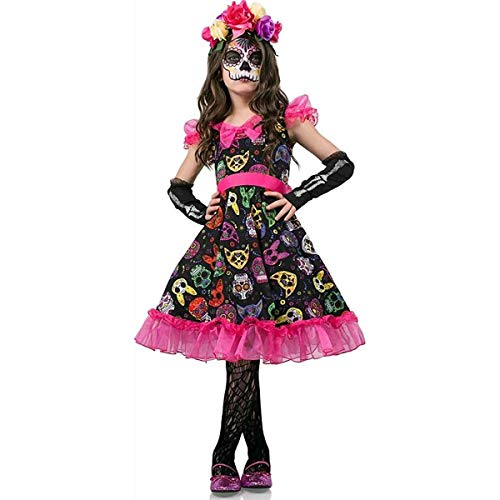 Sugar Skull Sweetie Kids Costume for $<!--$32.29-->