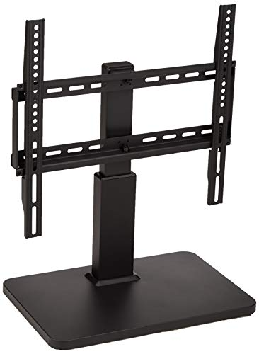 AmazonBasics Pedestal TV Mount for 32-65″ TV with Swivel Feature