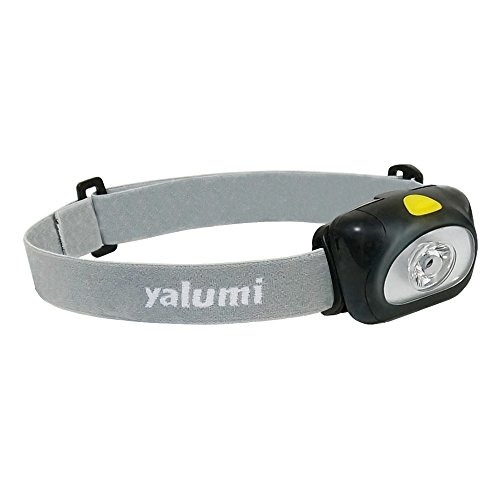 Yalumi Spark 105-Lumen 90-Meter Spotlight White LED Headlamp, Black/Gray