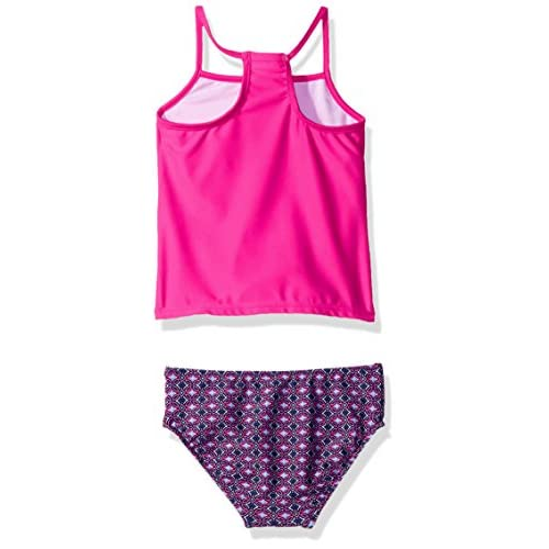 Carter's Girls' Fringe Top Tankini Swimsuit Set