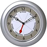DayClocks Inc. Contemporary Silver DayClock