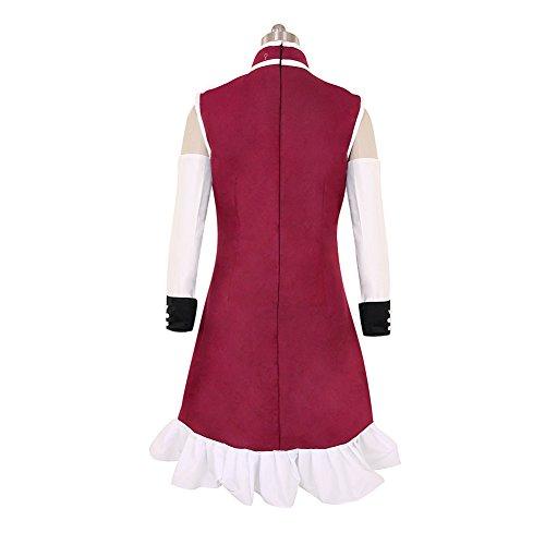 CG Costume Women's Puella Magi Madoka Magica Kyoko Sakura Dress Cosplay Costume Small