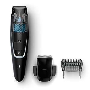 Philips Serie 7000 BT7201/16 - Barbero con sistema de aspiración, para barba, bigote y patillas, peine-guia