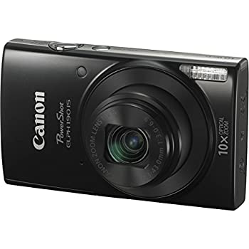 Canon Powershot Elph 190 Is Digital Camera (Black) With 10x Optical Zoom & Built-in Wi-fi With 32gb Sdhc + Flexible Tripod + Acdc Turbo Travel Charger + Replacement Battery + Protective Camera Case 2