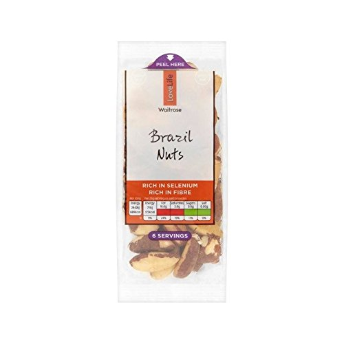 Brazil Nut Kernels Waitrose Love Life 150g - Pack of 6