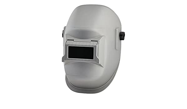 Sellstrom 290 Series Nylon Super Kool Silver Coated Welding Helmet with Silver Coated 4-1/4
