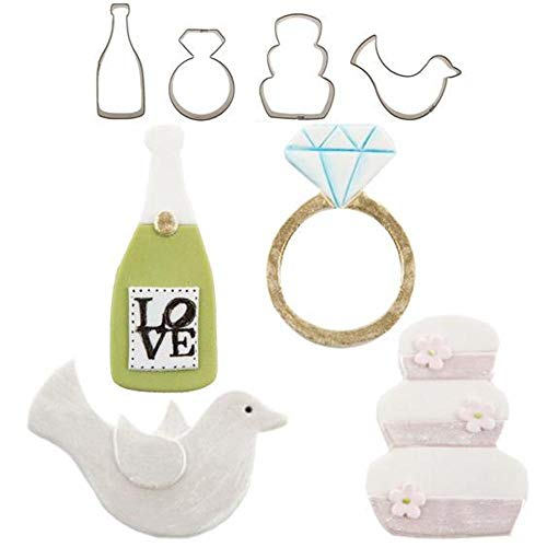 - CUTIE CUPCAKE WEDDING SET/4