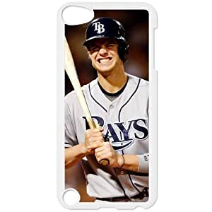 MLB IPod Touch 5 White Tampa Bay Devil Rays cell phone cases&Gift Holiday&Christmas Gifts NADL7B8825692