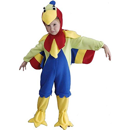 [Child's Toddler Parrot Costume (Size: 2-4T)] (Parrot Infant Costumes)
