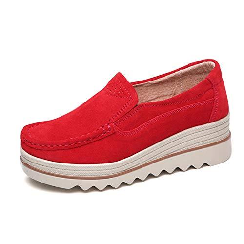 こねる徴収従うWUIWUIYU  厚底靴 レディース ウォーキングシューズ 婦人 スニーカー 軽い 通気 美脚 歩くやすい 通勤靴 大きいサイズ
