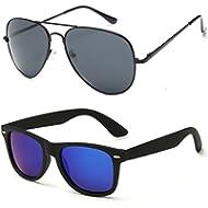 [Sponsored]Wayfarer Sunglasses Polarized, Aviator Sunglasses for men women polarized sun glasses...