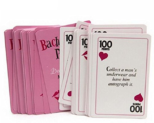Dare Cards /& Dick Ring Toss Game 21st Birthday Party and Bridal Shower Bachelorette Party Games for Ladies Night Out 3 Games Pin The Junk on The Hunk Bachelorette Party Decorations and Supplies