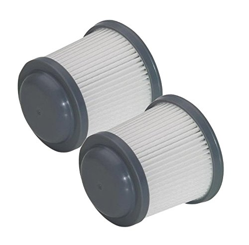 Black & Decker BDH2000PL Vacuum (2 Pack) Replacement Filter # 90552433-03-2pk (Hand Black Vac Decker And 18v)