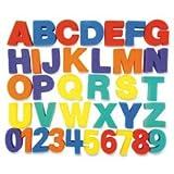 Chenille Kraft 9079 Letters/Numbers Paint Sponges 3'' 36Pcs/ST Ast