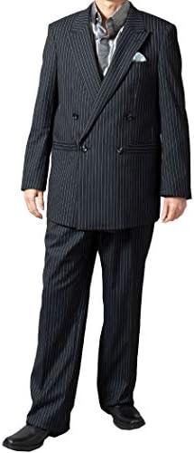 スーツ ダブルスーツ メンズ オールシーズン 春夏 パーティスーツ ゆったりシルエット 結婚式 120821 5.7.8.9.10