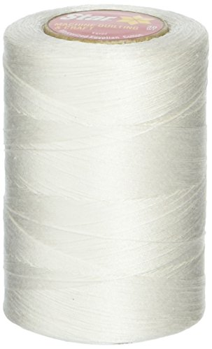 Coats: Thread & Zippers V37-001 Star Mercerized Cotton Thread Solids 1200 Yards-White