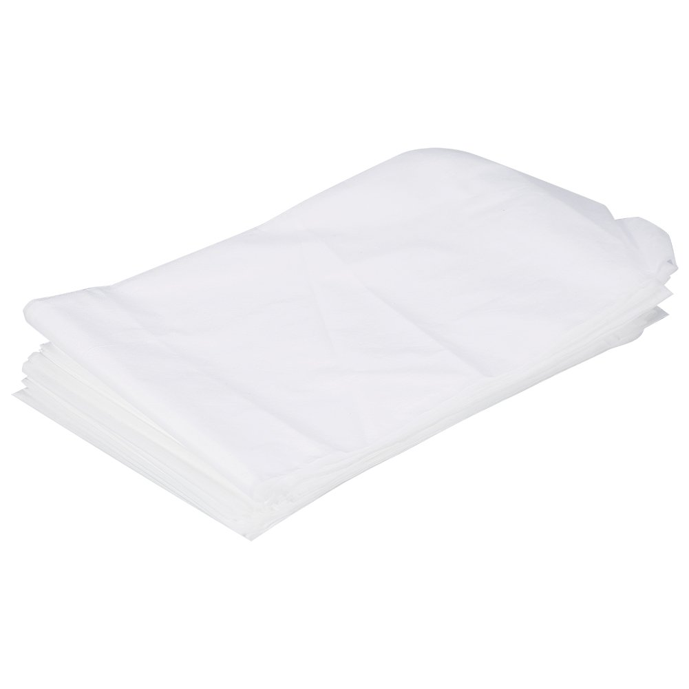 Beauty Sheet Cover, 10 Pcs 18080cm Non-Woven Disposable Waterproof Bed Sheet Massage Beauty Cover (White)