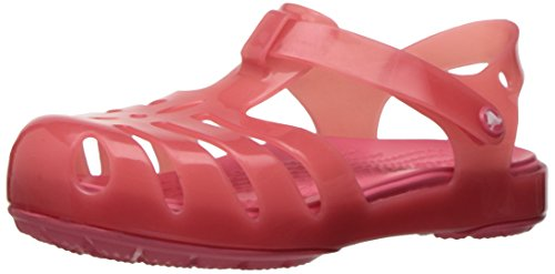 a PS Sandal, Coral, 9 M US Toddler (Pink Girls Sandals)