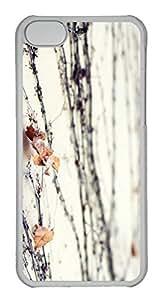 Customized iphone 5C PC Transparent Case - Vine02 Cover