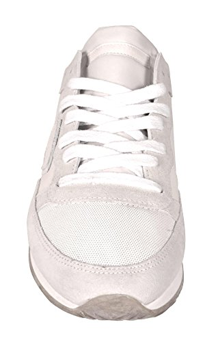 In Donna Philippe Sporco Bianche Scarpe Sneakers Bianco Trld Pelle Model Rw09 W04q4aAwEP