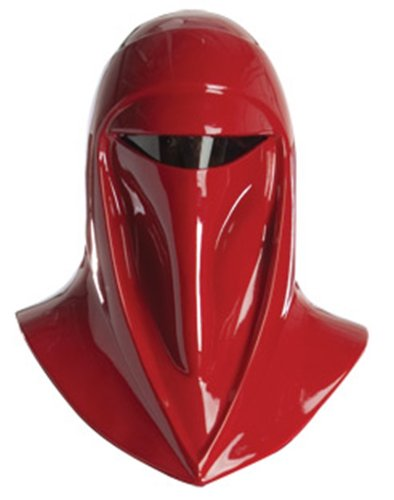 [Rubie's Star Wars Adult Supreme Edition Imperial Guard Helmet, Red, One Size Costume] (Supreme Imperial Guard Costume)