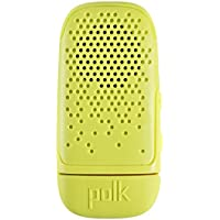Polk Audio BITY-A Boom Bit Wearable Bluetooth Speaker, Volt Yellow