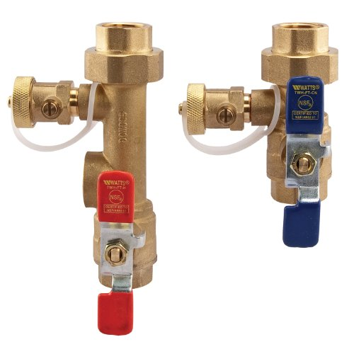 Hot Water Heater Valve (Watts LFTWH-FT-HCN Service Valve Kit for Tankless Water Heater)