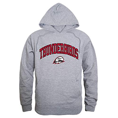 SUU Southern Utah University Thunderbirds NCAA Men's Campus Hoodie Fleece Sweatshirt - Heather Grey, X-Large