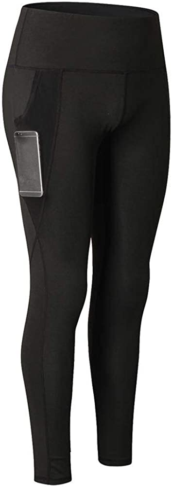 Daxin Women Workout Leggings Yoga Pants Workout High Waist Running with Pocket