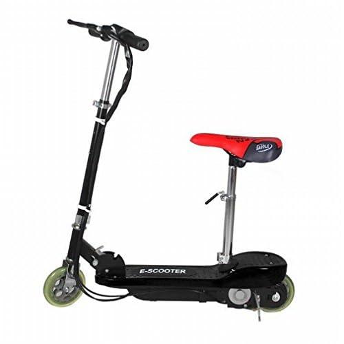 Scooter Électrique Deux Tours de Mini Portable Pédale Pliante Loisirs Enfants