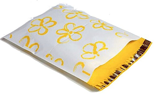 Yellow Flower Poly Mailer