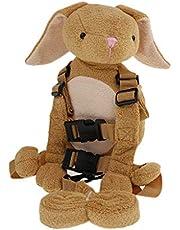 MagiDeal 2 in 1 Animal Toddler Safety Harness Backpack Children's Walking Leash Strap - Long Ear Dog, as described