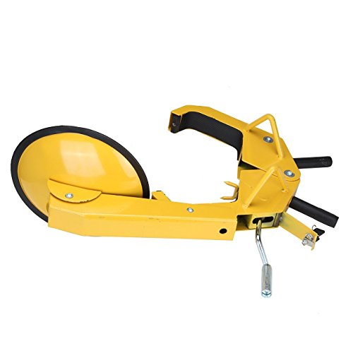 PanelTech 휠 타이어 주차 부츠 잠금 잔디 트랙터 골프 카트 ATV..