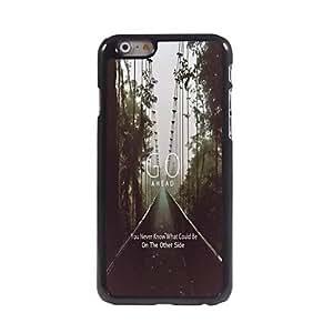 WQQ Funda Trasera - Gráficas/Dibujos/Metálico/Diseño Especial/Otro/Innovador - para iPhone 6 ( Multicolor , Metal/ABS/Plástico )