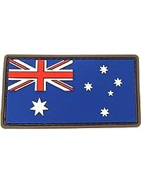 MILSPEC MONKEY AUSTRALIAN FLAG PVC FULLCOLOR PATCH