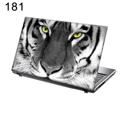 TaylorHe Folie Sticker Skin Vinyl Aufkleber mit bunten Mustern für 15 Zoll 15,6 Zoll (38cm x 25,5cm) Laptop Skin tiger