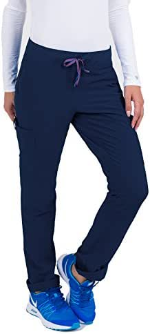 Med Couture Women's 'Air Collection' Oxygen Yoga Cargo Scrub Pant
