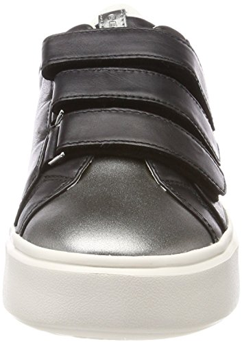 Mujer Nhenbus D Black Zapatillas para Geox C Negro CpFqTxw