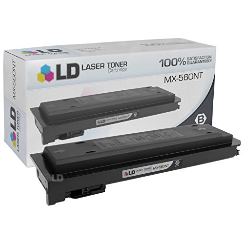 LD Compatible Toner Cartridge Replacement for Sharp MX-560NT (Black)