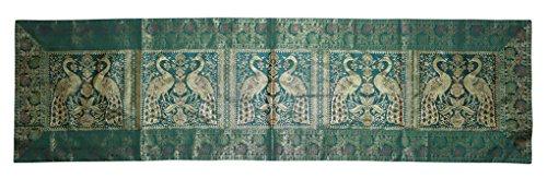 Lalhaveli Rajasthani Hand Art Peacock Work Design Silk