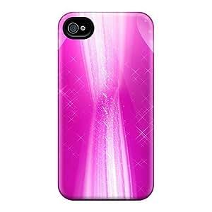 Estebanrivera-11 Iphone 5/5s Hybrid Tpu Case Cover Silicon Bumper Pink Glow Abstract
