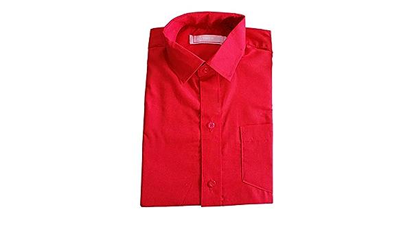 Camisa para niño de manga corta, para boda, ceremonia