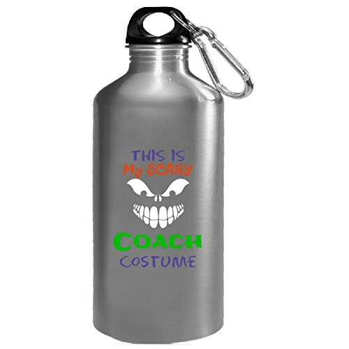 Gym Coach Halloween Costumes (This Is My Scary Coach Halloween Costume - Water Bottle)
