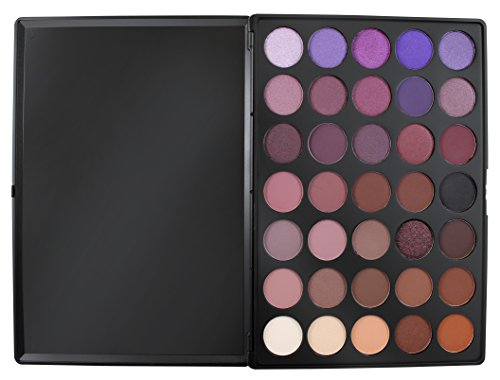 Morphe Pro 35 Color Eyeshadow Makeup Palette - Plum Palet...