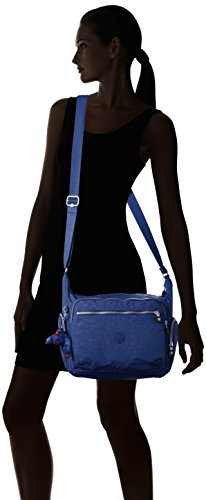 Kipling Gabbie - Bolso de hombro Mujer Azul (Jazzy Blue)